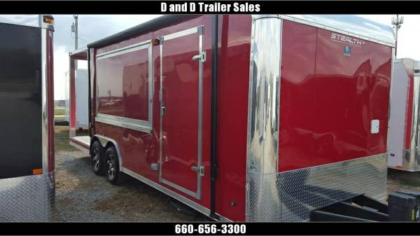 2016 Stealth Trailers Concession Vending Concession Trailer